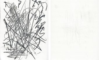 two opposite line drawings one of Noisy one of Quiet