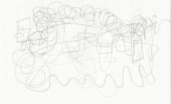 squiggly line drawing