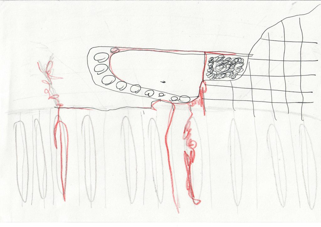 exquisite corpse exercise - light